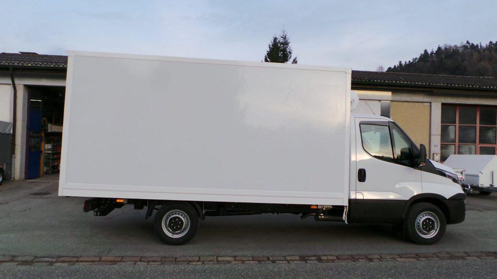 Lieferwagen-Aufbau: Kasten-Aufbau